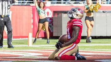 marquise goodwin: san francisco 49ers star scores touchdown hours after losing son