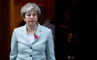 may faces tory rebellion over her brexit bill amendment