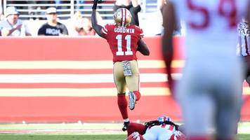 nfl star marquise goodwin plays and scores on day baby son dies