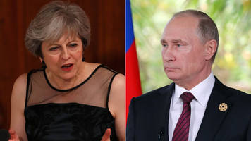 Russian politicians dismiss Theresa May 'election meddling' criticism