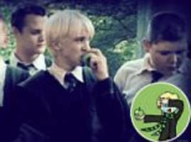 harry potter fans have created 'drapple' memes