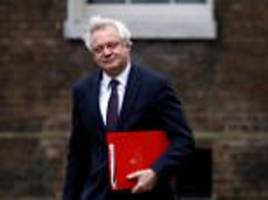 Claims David Davis is 'furious' at Johnson and Gove