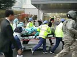 North Korean soldier shot 6 times as he fled across border