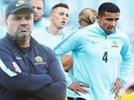 Australia train ahead of World Cup play-off with Honduras