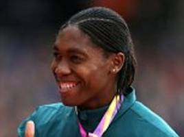 caster semenya is set to attempt commonwealth games double