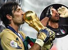 Gianluigi Buffon retires from Italy duty as a legend