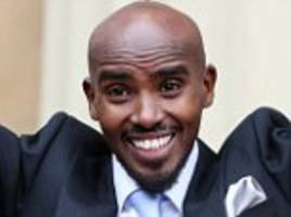 sir mo farah receives knighthood from the queen