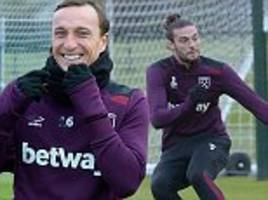 West Ham: David Moyes brings new backroom team to training