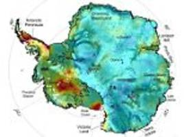 Antarctica melting because of heat deep within the Earth