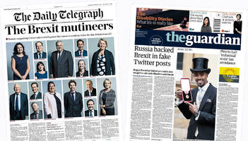The Papers: 'Brexit mutineers', and Russian tweets