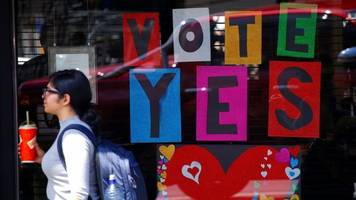 Australia same-sex marriage: Results expected imminently