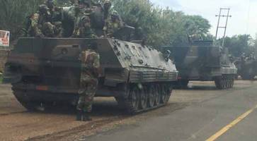 Military Coup Reportedly Under Way In Zimbabwe