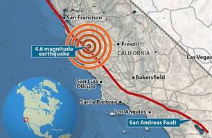 san andreas 'quake swarm' has cali residents fearing the 'big one' is imminent
