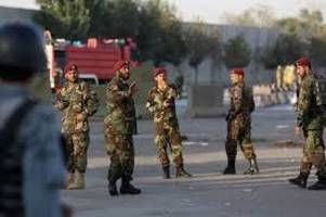 22 policemen, 45 militants killed in afghan police checkpoints attack