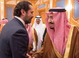 Lebanon's ex-PM will return to country from Saudi Arabia