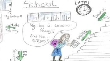 girl, 12, draws pictures of her life with heart condition