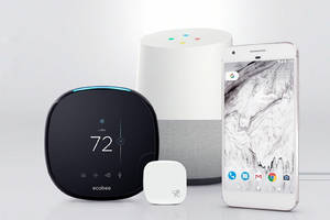 Control Ecobee's smart thermostats with Google Assistant