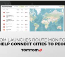 TomTom Launches TomTom Route Monitoring to Help Connect Cities to People