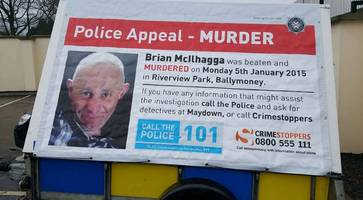 Man arrested in Brian McIlhagga murder probe