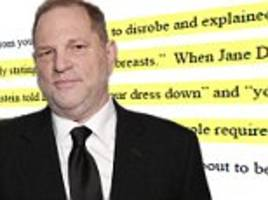 Anonymous actress files lawsuit against Harvey Weinstein
