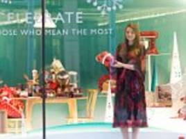 Sarah Rainey on John Lewis' Christmas display