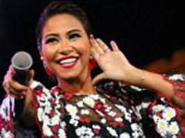 egyptian pop star is banned for 'mocking' the river nile