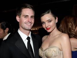 Evan Spiegel and Miranda Kerr are expecting their first child