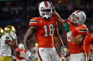 Hurricanes move up to No. 3 in latest College Football Playoff rankings