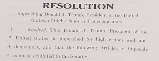 house democrats introduce five articles of impeachment against trump