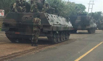 Zimbabwe 'Coup' Escalates: US Embassy Closes, Explosions Rock Harare, Military Seize State Broadcaster