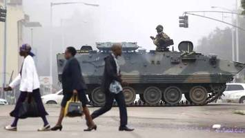 zimbabwe's military seizes power, holds president mugabe