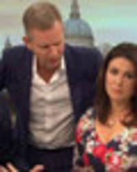 jeremy kyle forced to intervene as piers and susanna erupt in lovers tiff