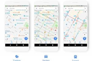 google maps updates its color scheme to make it easier to identify points of interest