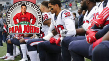 'WE'RE SORRY': Papa John's pizza says no to neo-Nazis, apologizes for criticizing NFL anthem protests
