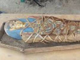 Archaeologists find Greco-Roman mummy in Egypt