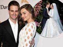 miranda kerr expecting first child with evan spiegel