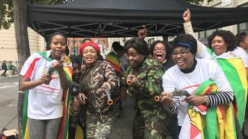 Zimbabweans in London: 'Today a comma not a full stop'