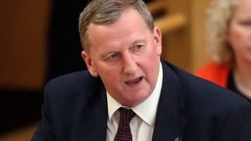 Scottish Labour interim leader Alex Rowley steps aside over conduct claims