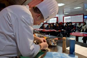 Chitkara University Hosts Culinary Art Demonstrations by Le Cordon Bleu, London Master Chef, Colin Westal