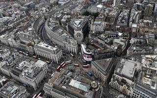 a protest march is causing disruption in central london