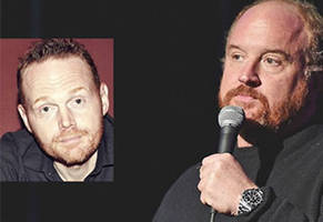 bill burr weighs in on the louis ck accusations