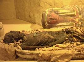 Ancient Egyptian Mummy Buried Wearing Mask Discovered In Long-Lost Sarcophagus