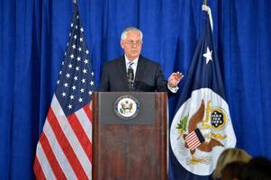 Tillerson says US considers individual sanctions for Myanmar