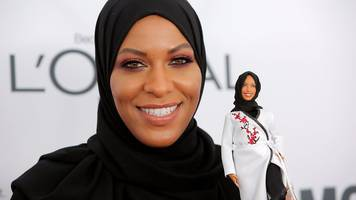 Ibtihaj Muhammad reveals first Barbie with a hijab