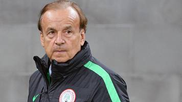 Rohr hails 'strong' Nigeria players for win over Argentina