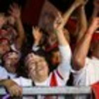 Football: Peru fans go nuts on World Cup playoff game day