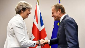 Theresa May to talk Brexit with EU chief Donald Tusk
