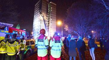 Dunmurry tower block fire: Residents' anger at not hearing fire alarms in high-rise blaze as they feared another Grenfell