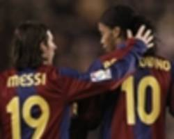 ronaldinho: i'd support messi if he decides to leave barcelona
