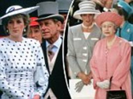 princess diana sparked rift between philip and the queen